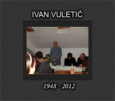 Photo of IVAN VULETIĆ 1948-2012