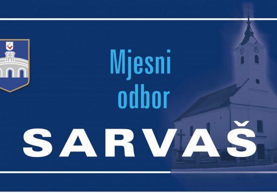 Program prioriteta Mjesnog odbora Sarvaš za 2018.