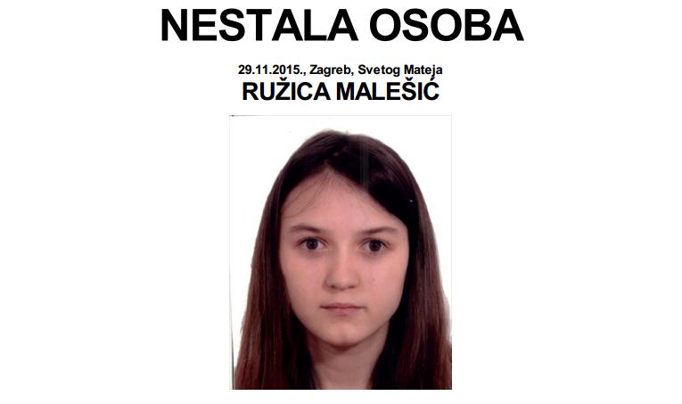 Photo of NESTALI: RUŽICA MALEŠIĆ