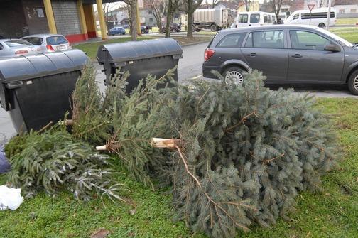 Photo of Unikom odvozi božićna drvca