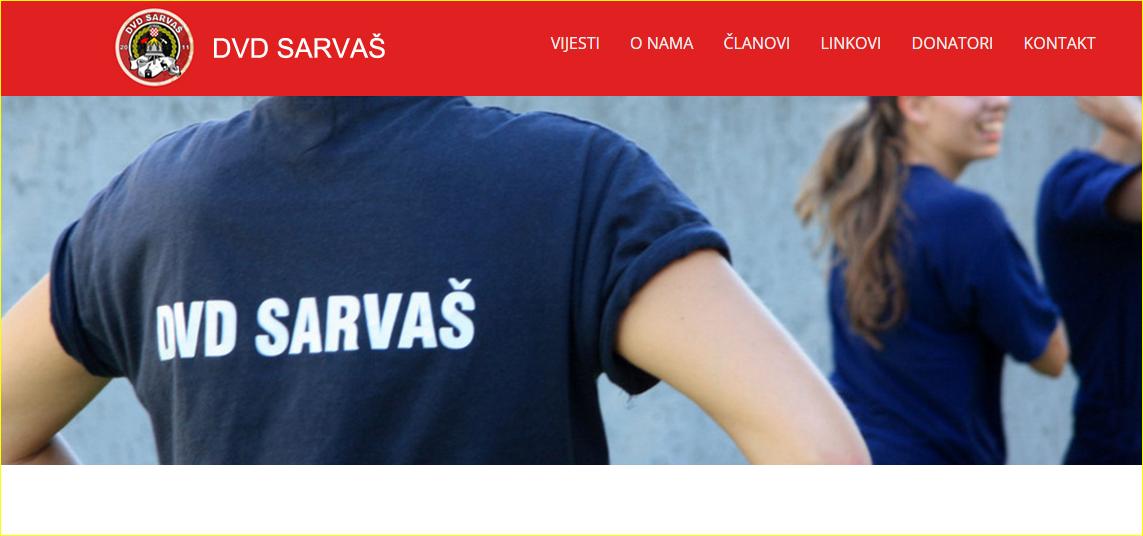 Photo of NOVA WEB STRANICA DVD SARVAŠ
