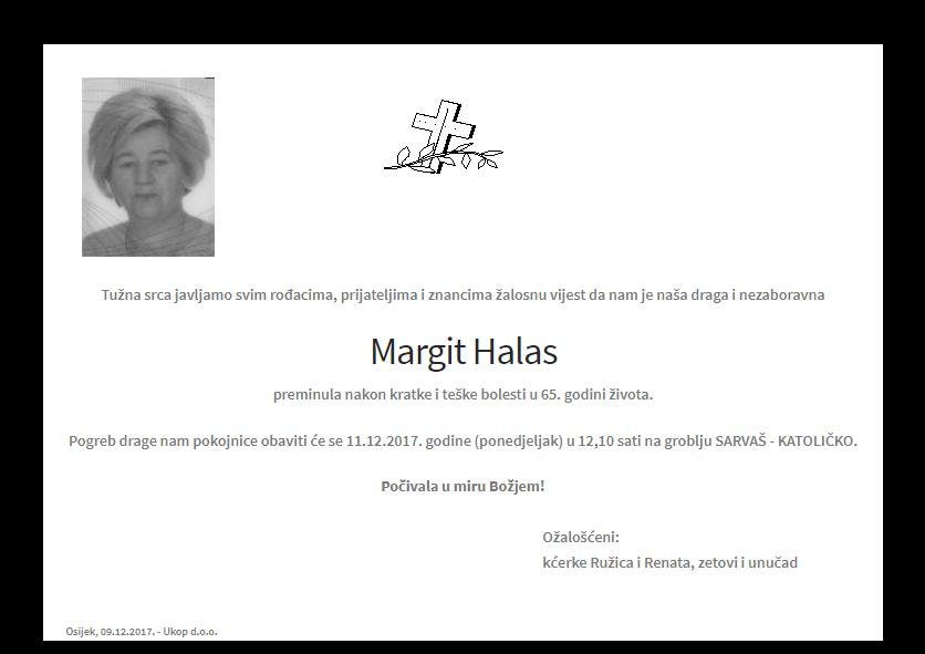 """Photo of POSLJEDNJI POZDRAV """"MARGIT HALAS """""""