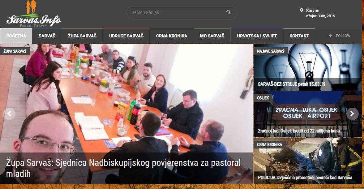 Photo of Sarvas.info na novom hostu