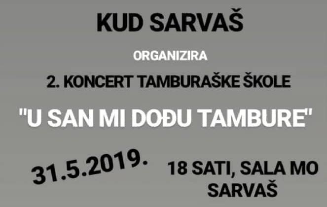 "Photo of KUD Sarvaš: ""U san mi dođu tambure"""