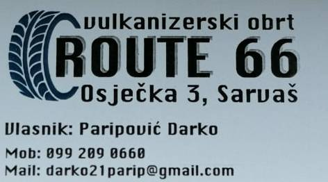 Photo of OTVOREN: Vulkanizerski obrt ROUTE 66 u Sarvašu