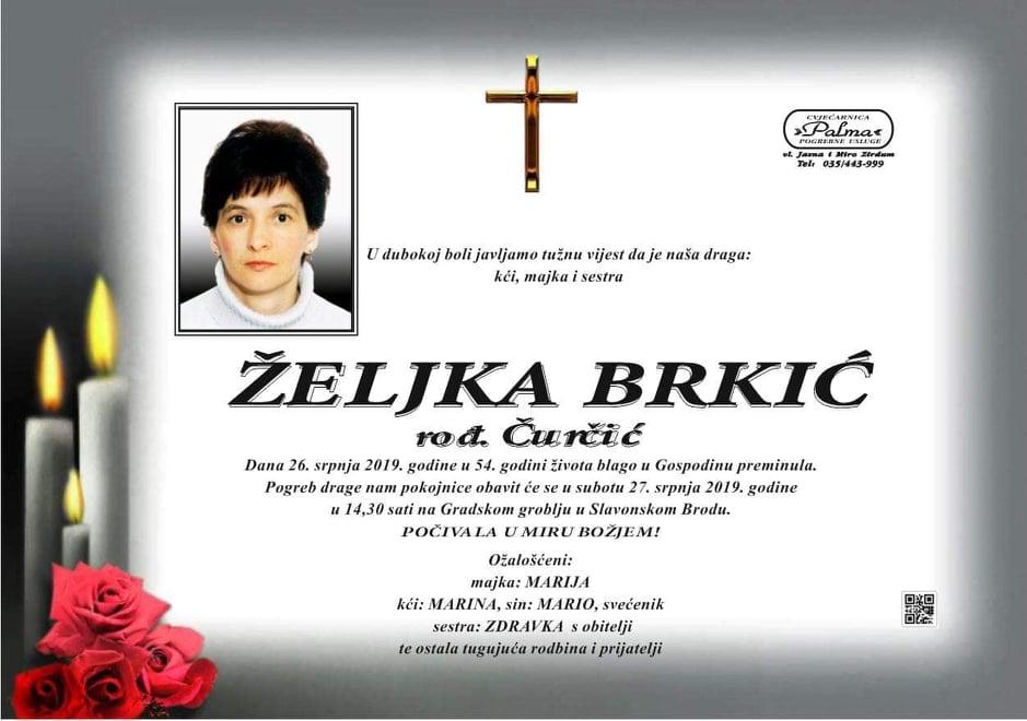 """Photo of POSLJEDNJI POZDRAV """"ŽELJKA BRKIĆ"""""""