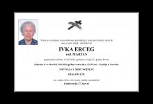 """Photo of POSLJEDNJI POZDRAV """" IVKA ERCEG"""""""
