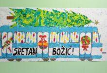 Photo of GPP Osijek(nagradna igra):Božićni tramvaj iz mašte-glasajte za PŠ Sarvaš