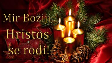 Photo of Čestitka vjernicima koji Božić slave prema Julijanskom kalendaru